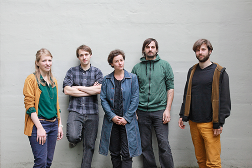 From left to right: Jennifer Schubert, Andreas Unteidig, Bianca Herlo, Florian Sametinger, Malte Bergmann