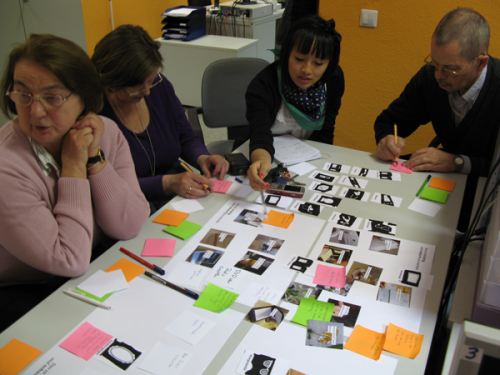 A co-design workshop at the SCC
